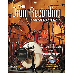 Hal Leonard The Drum Recording Handbook - Music Pro Guides (Book/DVD) (332386)
