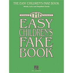 Hal Leonard The Easy Children's Fake Book - Melody Lyrics & Simplified Chords In The Key Of C (240428)