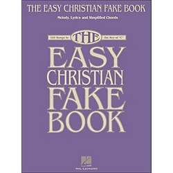 Hal Leonard The Easy Christian Fake Book - 100 Songs In The Key Of C (240328)