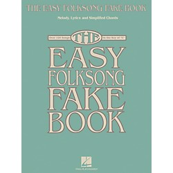 Hal Leonard The Easy Folksong Fake Book - Over 120 Songs In The Key Of C (240360)