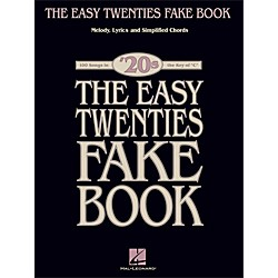 Hal Leonard The Easy Twenties Fake Book - 100 Songs In The Key Of C (240336)