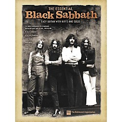 Hal Leonard The Essential Black Sabbath Easy Guitar Tab Songbook (702201)