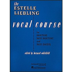 Hal Leonard The Estelle Liebling Vocal Course For Barintone Voice (312245)