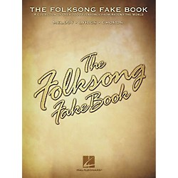 Hal Leonard The Folksong Fake Book - C Edition (240151)