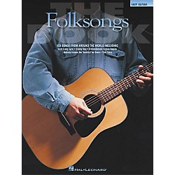 Hal Leonard The Folksongs Easy Guitar Tab Songbook (702180)