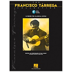 Hal Leonard The Francisco Tarrega Collection Tab & Notation Book with CD (698993)