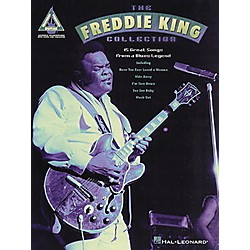 Hal Leonard The Freddie King Collection Guitar Tab Songbook (690134)