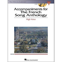 Hal Leonard The French Song Anthology For High Voice 2CD's Accompaniment (453)