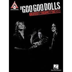 Hal Leonard The Goo Goo Dolls - Greatest Hits Volume 1 The Singles Tab Book (690943)