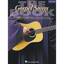Hal Leonard The Gospel Songs Easy Guitar Songbook (702157)