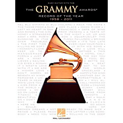 Hal Leonard The Grammy Awards Record Of The Year 1958-2011 (Easy Guitar With Tab) (122138)