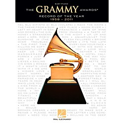 Hal Leonard The Grammy Awards Record Of The Year 1958-2011 for Easy Piano (122182)