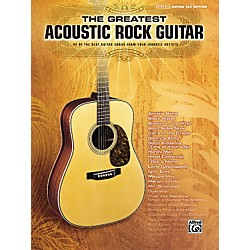 Hal Leonard The Greatest Acoustic Rock Guitar Book (701551)