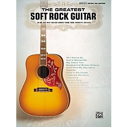 Hal Leonard The Greatest Soft Rock Guitar Tab Songbook (701556)