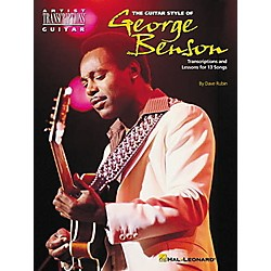 Hal Leonard The Guitar Style of George Benson Transcriptions with Lessons (660113)
