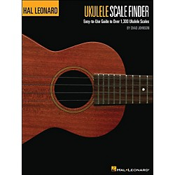 Hal Leonard The Hal Leonard Ukulele Scale Finder Book 9 X 12  Size (696378)