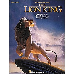 Hal Leonard The Lion King Piano, Vocal, Guitar Songbook (312504)