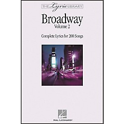 Hal Leonard The Lyric Library: Broadway Volume 2 Book (240205)