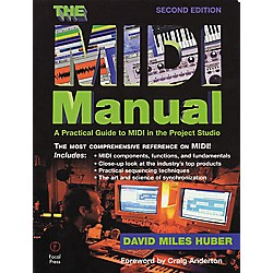 Hal Leonard The MIDI Manual 2nd Edition Book (330462)