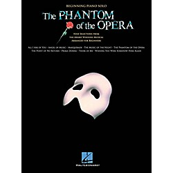 Hal Leonard The Phantom Of The Opera - Beginning Piano Solo Songbook (103239)