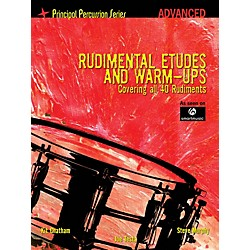 Hal Leonard The Principal Percussion Series Adv Level - Rudimental Etudes and Warm-Ups Covering All 40 Rudiments (6620173)