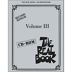 Hal Leonard The Real Book Volume 3 Second Edition C Instruments CD-Rom (451089)