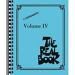Hal Leonard The Real Book Volume 4 (C Edition) - Fake Book (240296)