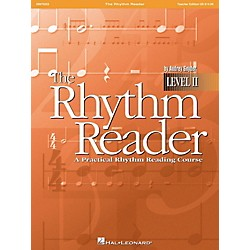 Hal Leonard The Rhythm Reader II - A Practical Rhythm Reading Course Accompaniment CD (9970226)
