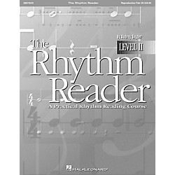 Hal Leonard The Rhythm Reader II - A Practical Rhythm Reading Course Reproducible Pak (9970225)