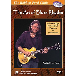 Hal Leonard The Robben Ford Clinic - The Art of Blues Rhythm Guitar DVD (320708)