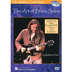 Hal Leonard The Robben Ford Clinic - The Art of Blues Solos (DVD) (320845)