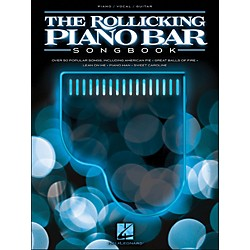 Hal Leonard The Rollicking Piano Bar Songbook arranged for piano, vocal, and guitar (P/V/G) (311742)