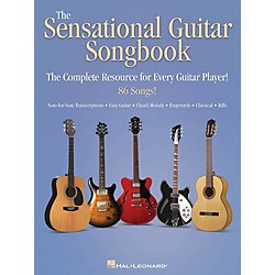 Hal Leonard The Sensational Guitar Songbook - The Complete Resource for Every Guitar Player! (701602)