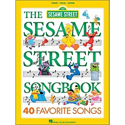 Hal Leonard The Sesame Street Songbook 40 Favorite Songs arranged for piano, vocal, and guitar (P/V/G) (312479)