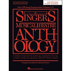 Hal Leonard The Singer's Musical Theatre Anthology Baritone/Bass 16 Bar Audition (230042)