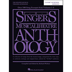 Hal Leonard The Singer's Musical Theatre Anthology Soprano 16 Bar Audition (230039)