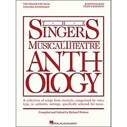 Hal Leonard The Singer's Musical Theatre Anthology Teen's Edition Baritone/Bass (230046)