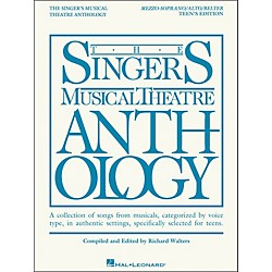 Hal Leonard The Singer's Musical Theatre Anthology Teen's Edition Mezzo-Soprano/Alto/Belter (230044)
