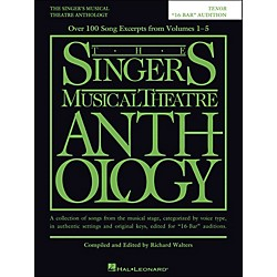 Hal Leonard The Singer's Musical Theatre Anthology Tenor 16 Bar Audition (230041)