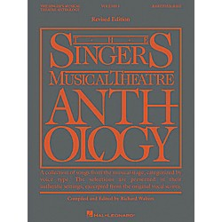 Hal Leonard The Singer's Musical Theatre Anthology for Bass/Baritone - Volume 1, Revised (361074)