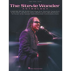 Hal Leonard The Stevie Wonder Anthology Piano, Vocal, Guitar Songbook (306447)