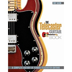 Hal Leonard The Telecaster Guitar Book - A Complete History Of Fender Telecaster Guitars (333189)