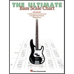 Hal Leonard The Ultimate Bass Scale Chart Book (695695)