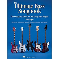 Hal Leonard The Ultimate Bass Songbook - The Complete Resource For Every Bass Player (701946)