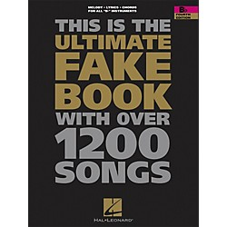 Hal Leonard The Ultimate Fake Book With Over 1200 Songs B Flat Instruments Forth Edition (240026)
