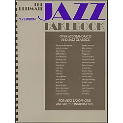Hal Leonard The Ultimate Jazz Fake Book, The E Flat Edition (240081)