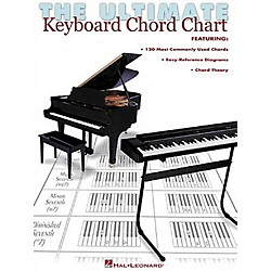 Hal Leonard The Ultimate Keyboard Chord Chart (220016)