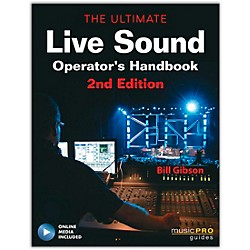 Hal Leonard The Ultimate Live Sound Operator's Handbook Book/DVD 2nd Edition (333183)