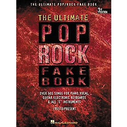Hal Leonard The Ultimate Pop Rock Fake Book (240099)