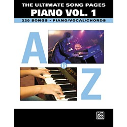 Hal Leonard The Ultimate Song Pages Piano Volume 1 (322050)